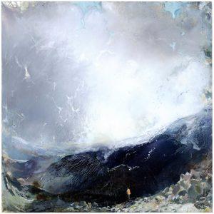 Kaldera, öljyväri, 2010-16, 145x145cm,